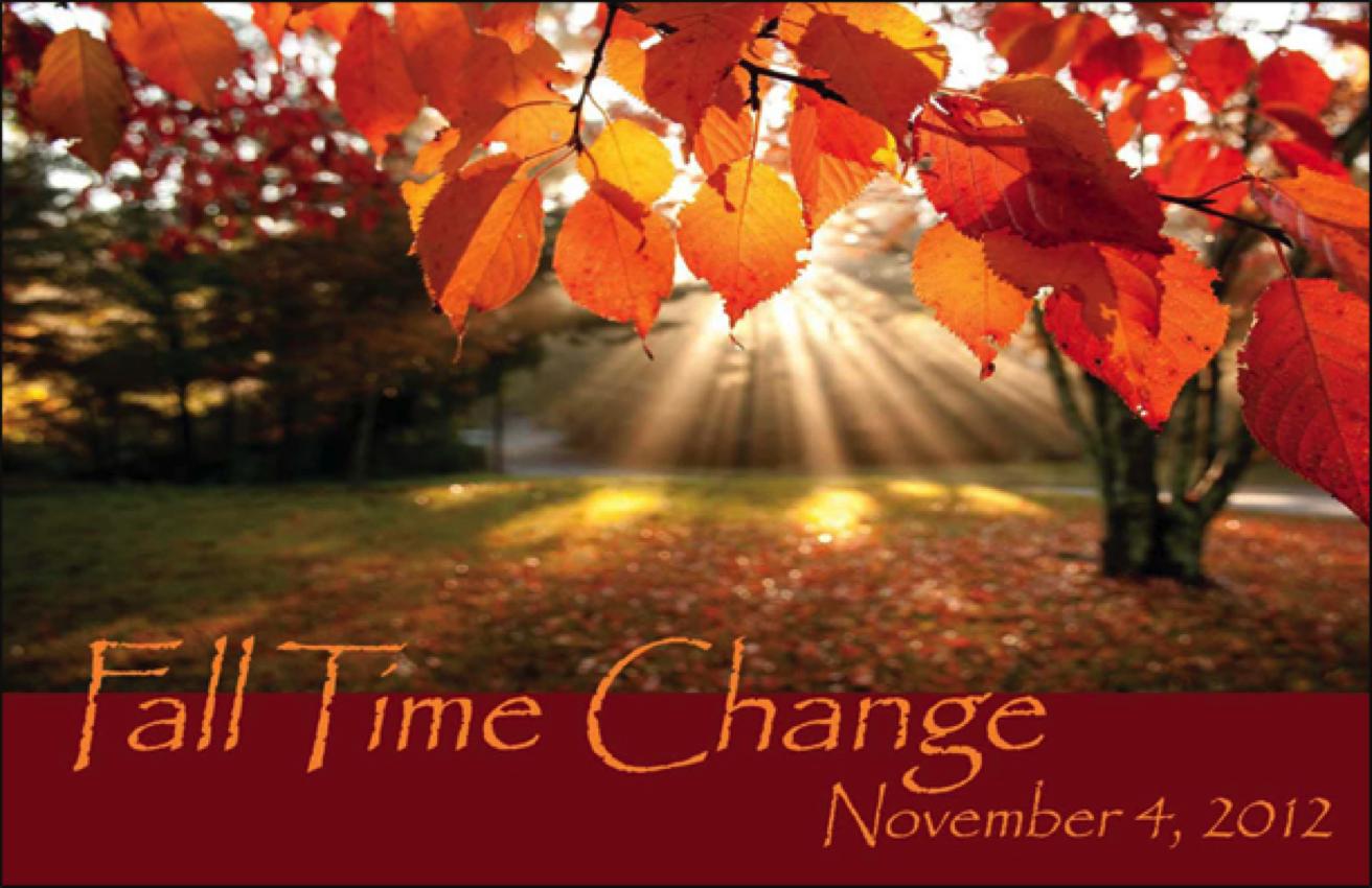 Navigating the Time Change